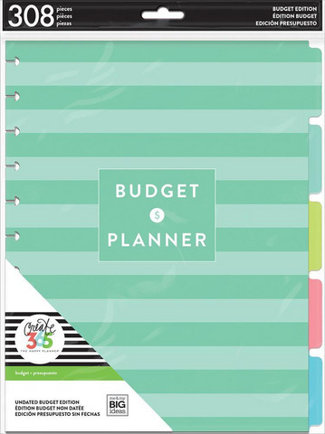 MAMBI - Happy Planner BIG, Budget Extension Pack, Lisäsivusetti