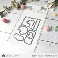 Mama Elephant - Donut Treats, Creative Cuts, Stanssisetti