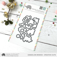 Mama Elephant - Dandelion Wishes, Creative Cuts, Stanssisetti