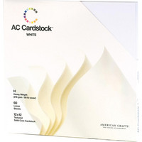 American Crafts - Textured Cardstock Pack 12