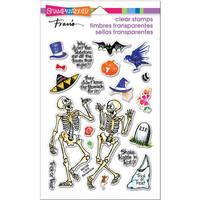 Stampendous - Leimasetti, Skeleton Humor