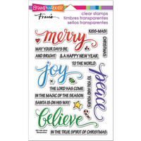 Stampendous - Leimasetti, Merry Words