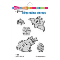 Stampendous - Leimasetti, Batty Cat