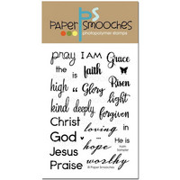 Paper Smooches - Leimasetti, Faith Sampler