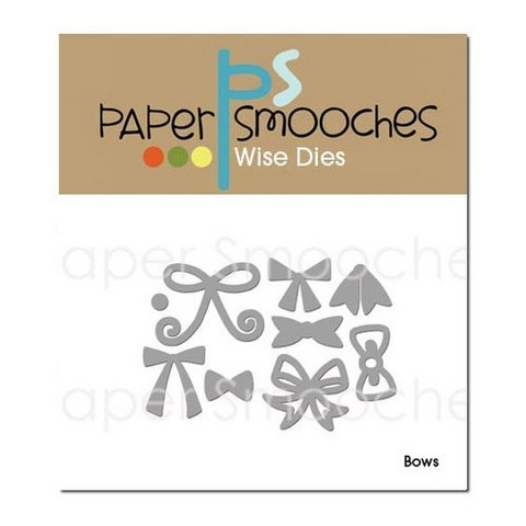 Paper Smooches - Stanssisetti, Bows