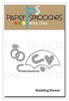 Paper Smooches - Stanssisetti, Wedding Shower