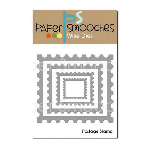 Paper Smooches - Stanssisetti, Postage Stamp