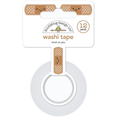 Doodlebug - Washi Tape, Stuck On You, 15mmX11m