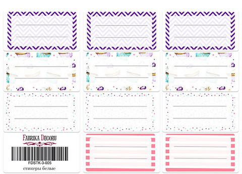 Fabrika Decoru - Tarra-arkki, Journal stickers #5
