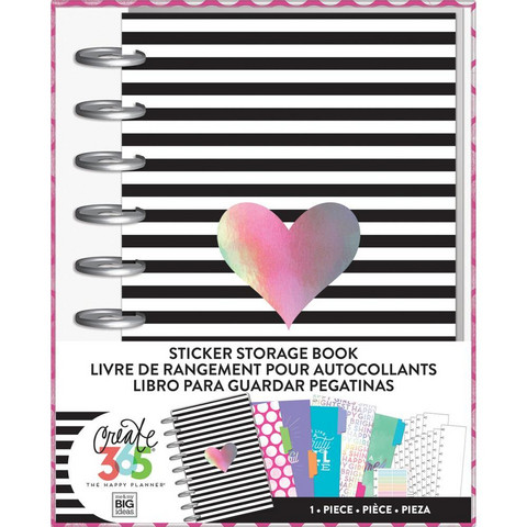 Happy Planner - Sticker Storage Book, Rainbow
