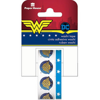 Paper House - Washi Tape, Wonder Woman, Teippisetti, 2 rullaa