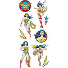 Paper House - Stickers, Wonder Woman, Tarrasetti