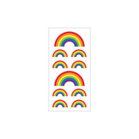 Paper House - Sticky Pix Stickers, Rainbows , Tarrasetti