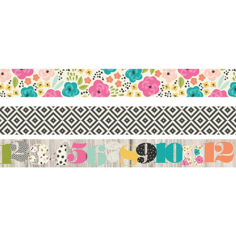 Simple Stories - Carpe Diem Good Vibes, Washi Tape, 3 rullaa