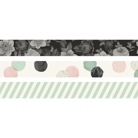 Simple Stories - Carpe Diem Beautiful, Washi Tape, 3 rullaa