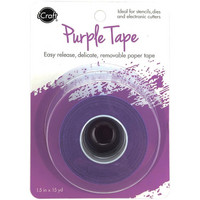 iCraft - Removable Purple Tape, Maskiteippi, 38 mm