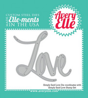 Avery Elle - Elle-Ments Dies, Simply Said Love, Stanssi