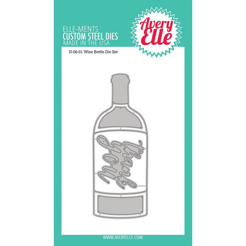 Avery Elle - Elle-Ments Dies, Wine Bottle, Stanssisetti