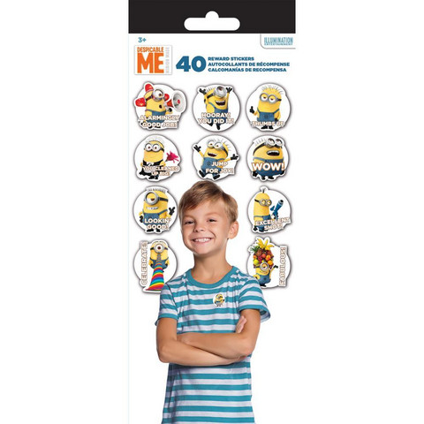 Tarrasetti - Teacher Reward Stickers, Despicable Me - Minions, 4 arkkia