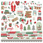 Simple Stories - Merry & Bright Cardstock Stickers 12
