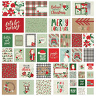 Simple Stories - Sn@p! Card Pack Merry & Bright, 48 osaa