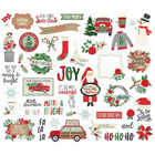 Simple Stories - Merry & Bright Bits & Pieces Die-Cuts, 45kpl