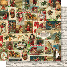 Simple Stories - Simple Vintage Christmas Double-Sided Cardstock 12