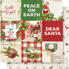Simple Stories - Simple Vintage Christmas Double-Sided Elements Cardstock 12