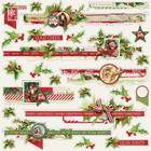 Simple Stories - Simple Vintage Christmas Cardstock Stickers 12