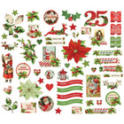 Simple Stories - Simple Vintage Christmas Bits & Pieces Die-Cuts, 55kpl
