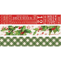 Simple Stories - Carpe Diem Simple Vintage Christmas, Washi Tape, 3 rullaa