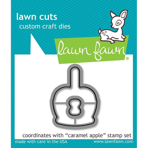 Lawn Fawn - Caramel Apple, Stanssisetti
