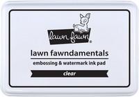 Lawn Fawn - Dye Ink, Clear, Leimamustetyyny