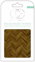 Craft Consortium - Decoupage Papers, Parquet Floor