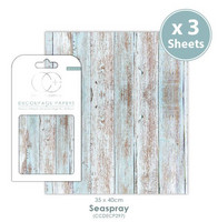 Craft Consortium - Decoupage Papers, Seaspray