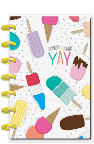 MAMBI - MINI Happy Notes™, Ice Cream & Popsicles, Dot Grid (hieman jälkiä kansissa)