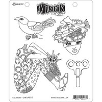Dylusions - Cling Stamp Collections, Clockwork