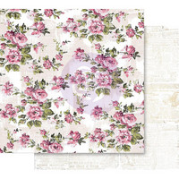 Prima Marketing -  Misty Rose Foiled, The Memorable Floral Wall, 12