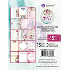 Prima Marketing - Misty Rose Journaling Notecards, 3