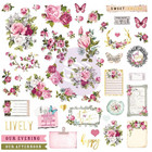 Prima Marketing - Misty Rose Ephemera & Stickers, 73 osaa