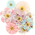 Prima Marketing -  Misty Rose Fabric Flowers, Earleen