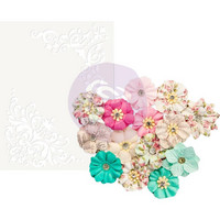 Prima Marketing -  Misty Rose Paper Flowers, Ashby
