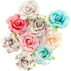Prima Marketing -  Misty Rose Fabric Flowers, Fatima