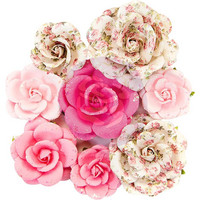Prima Marketing -  Misty Rose Paper Flowers, Olivia
