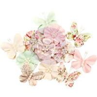 Prima Marketing -  Misty Rose Paper Flowers, Dacey
