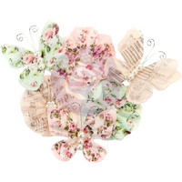 Prima Marketing -  Misty Rose Paper Flowers, Mabel