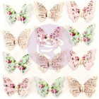 Prima Marketing -  Misty Rose Paper Butterflies, Taylor