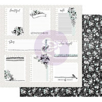 Prima Marketing -  Flirty Fleur Foiled, Little Notes, 12