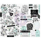 Prima Marketing - Flirty Fleur Sticker Sheet, Tarrasetti