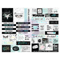 Prima Marketing - Flirty Fleur Sticker, Words & Quotes, Tarrasetti